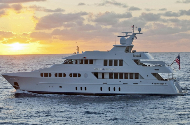 Milk Honey Crewed Power Yacht Charter