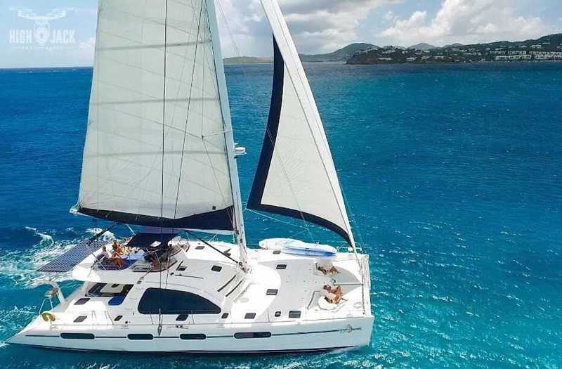 More Amore Crewed Catamaran Charter