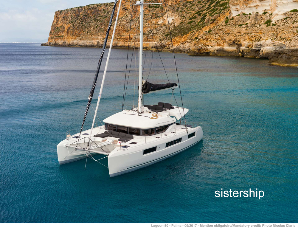 Nauti Cat Crewed Catamaran Charter
