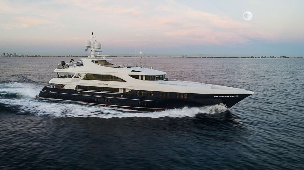 Never Enough Crewed Power Yacht Charter