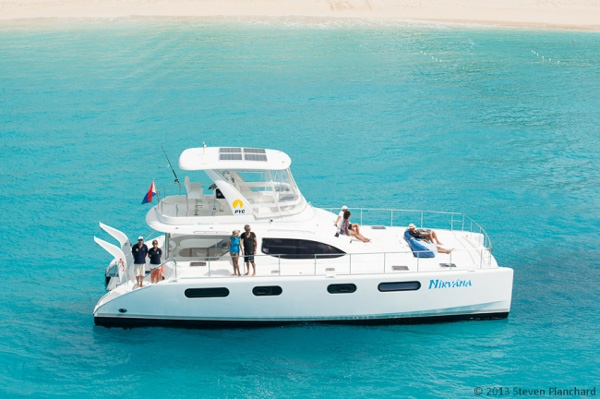 Nirvana Power Cat Crewed Yacht Charter