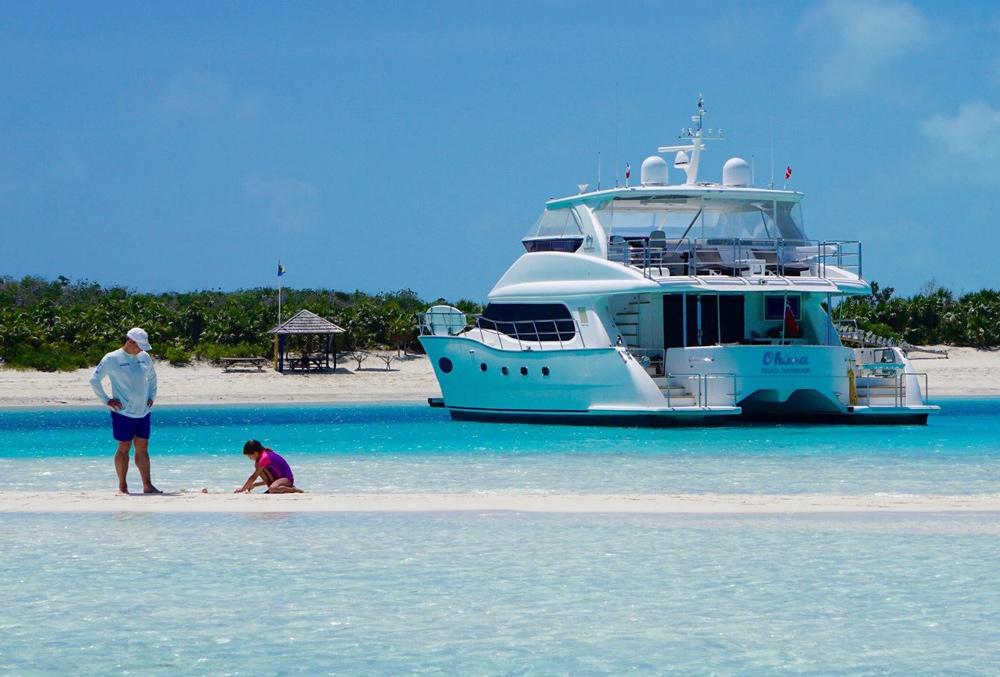 Ohana Crewed Power Yacht Charter Virgin Islands