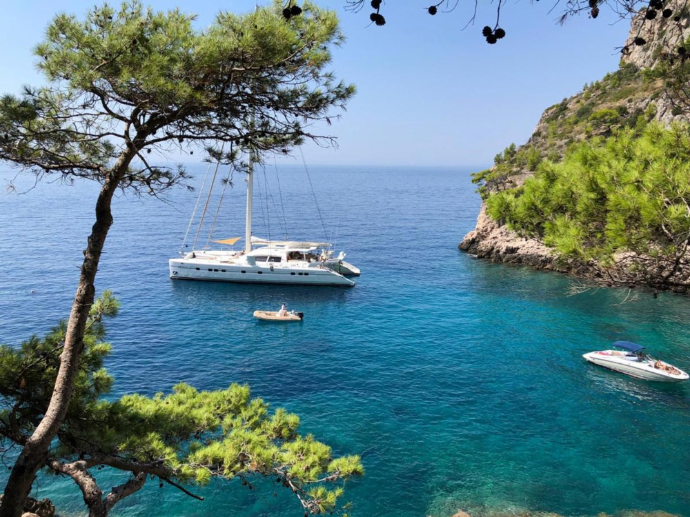Orion 90 Crewed Yacht Charter