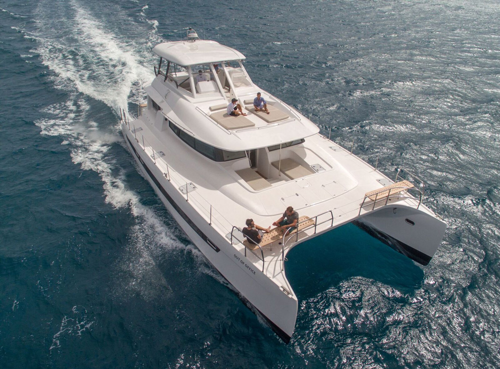 Out of Office Crewed Power Yacht Charter