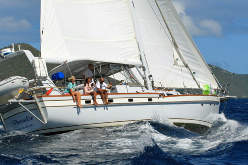 Paradise Crewed Sailing Yacht Charter