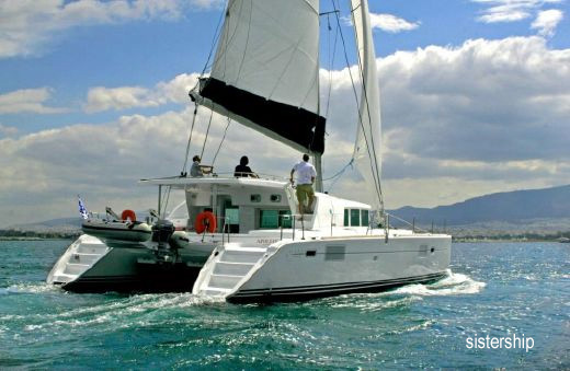 Pegasus Crewed Catamaran Charter