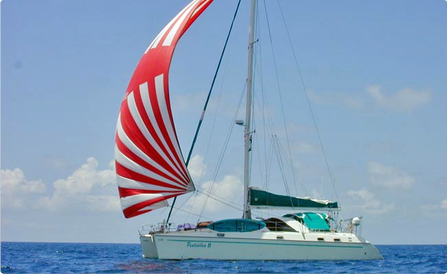 Pentesilea II Crewed Catamaran Charter