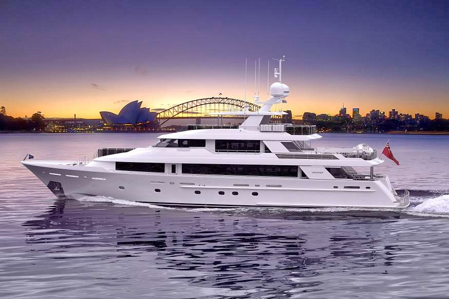 Pipe Dream Crewed Power Yacht Charter