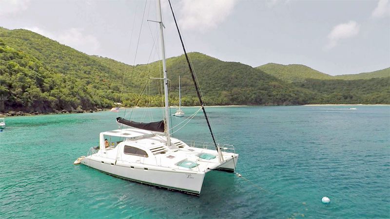 Pisces Crewed Catamaran Charter