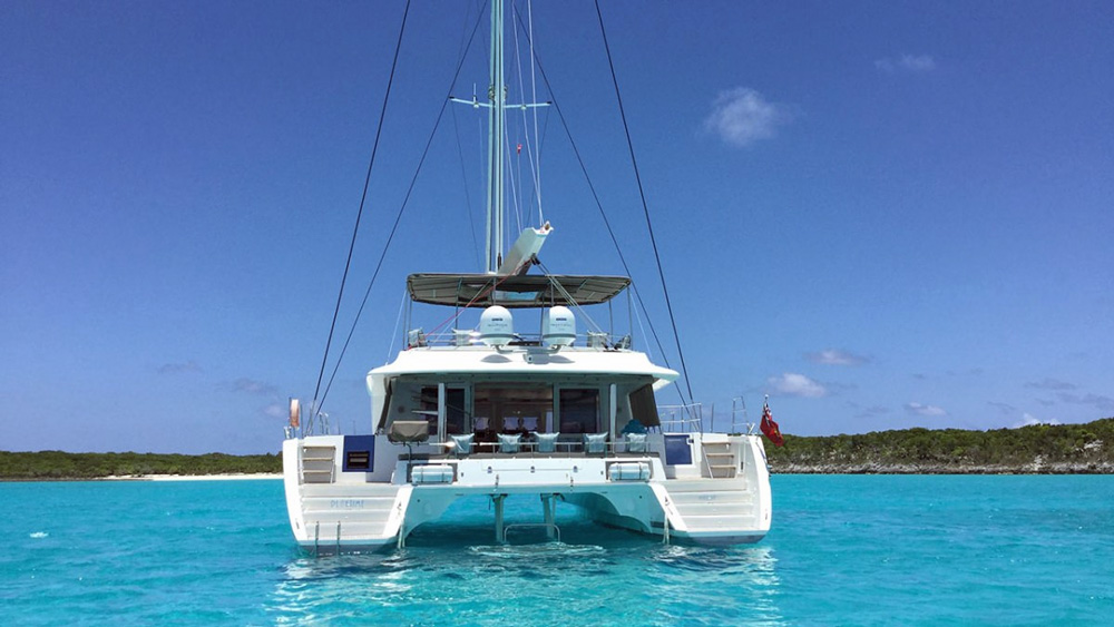 Playtime Crewed Catamaran Charter