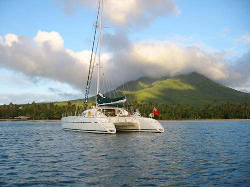 Pride Crewed Catamaran Charter