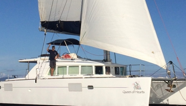 Queen of Hearts Crewed Catamaran Charter
