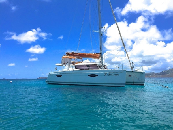 R S Cape Crewed Catamaran Charter