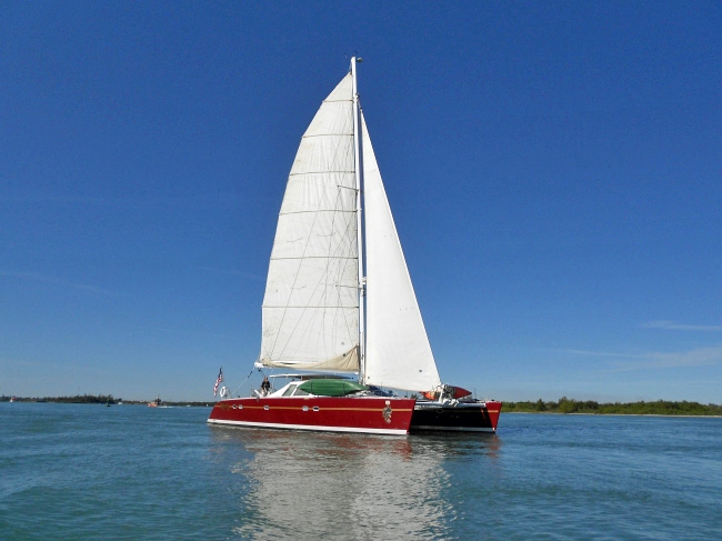 Raven Crewed Catamaran Charter
