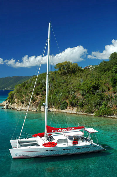 ReAction Crewed Yacht Charter