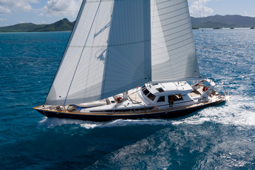 ree crewed sailing yacht charter caribbean leeward islands