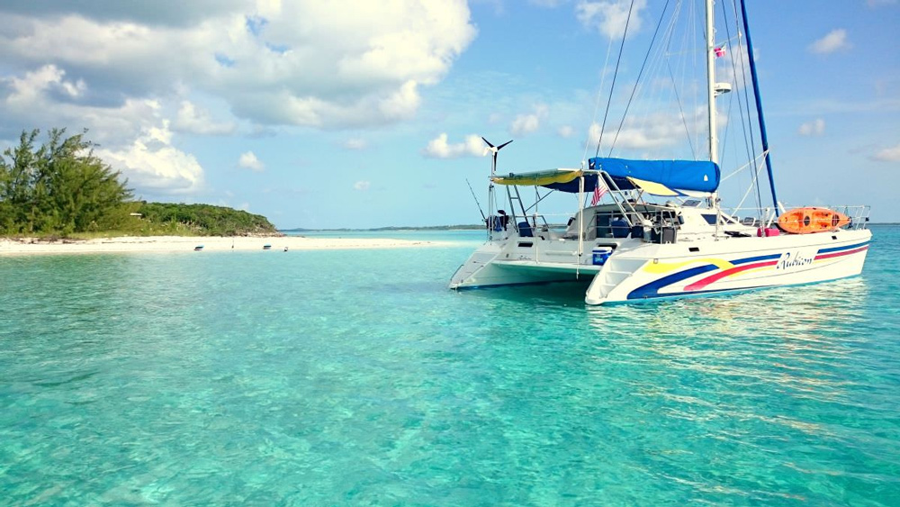 Rubicon Crewed Catamaran Charter