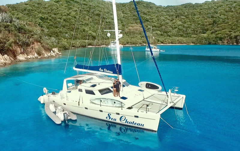Sea Chateau Crewed Catamaran Charter