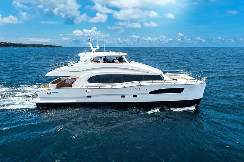Sea Glass 74 Crewed Power Yacht Charter