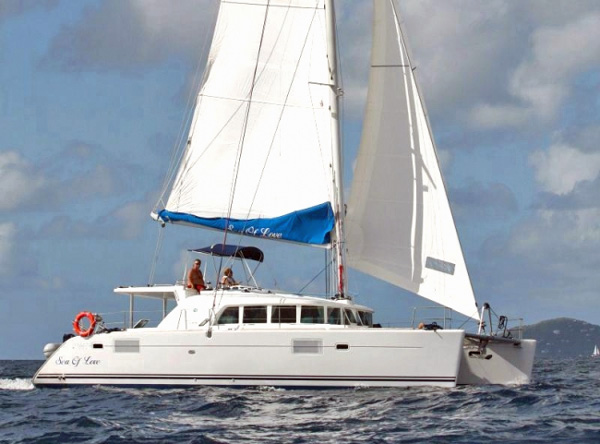 Sea Of Love Crewed Catamaran Charter