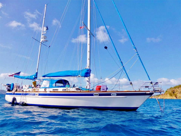 Sea Witch 58 Crewed Yacht Charter