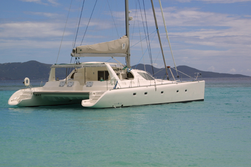 Secret Oasis Crewed Catamaran Charter