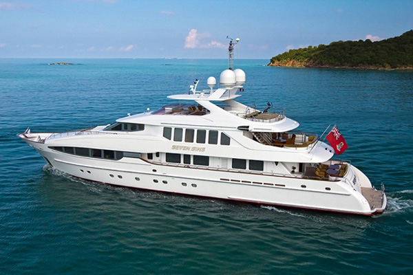 Seven Sins Crewed Power Yacht Charter