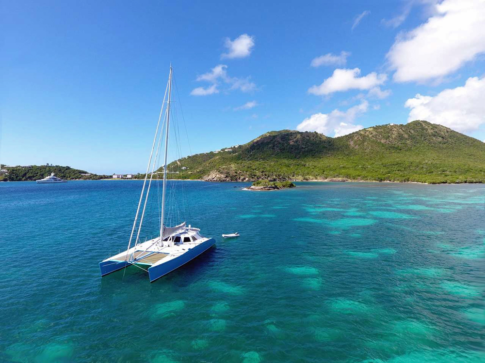 Skylark 72 Crewed Catamaran Charter