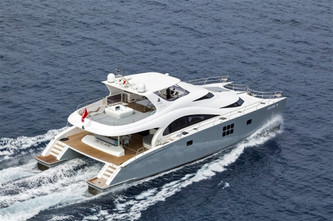 Skylark Crewed Power Yacht Charter