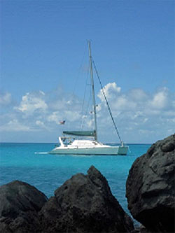 Sognare Crewed Catamaran Charter