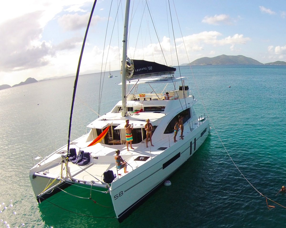 Something Wonderful Crewed Catamaran Charter