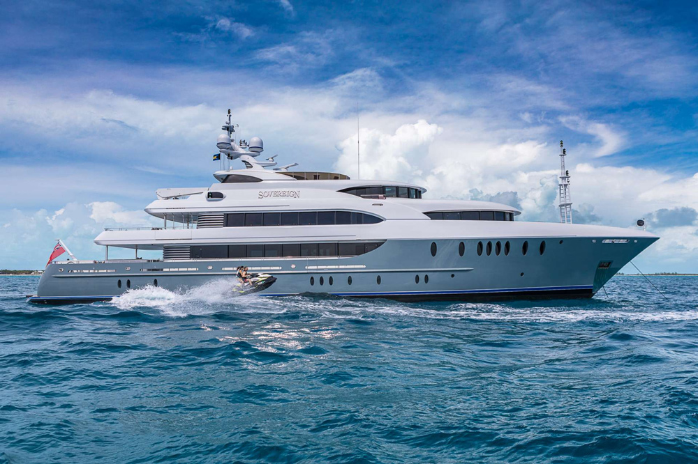 Sovereign Crewed Power Yacht Charter