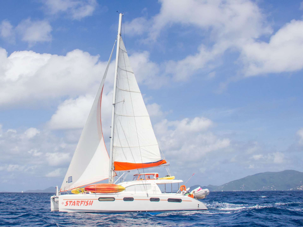 Starfish Crewed Catamaran Charter
