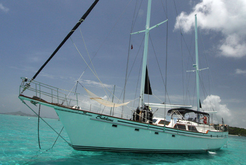 Sublime Crewed Yacht Charter