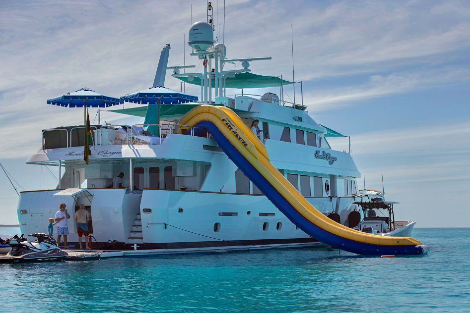 Sweet Escape Crewed Power Yacht Charter
