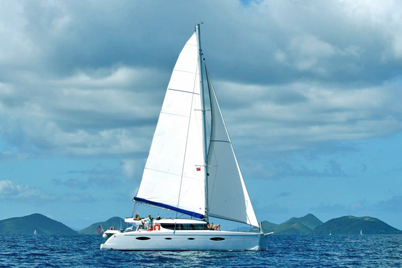 US Virgin Islands yacht charter boats, Caribbean charter