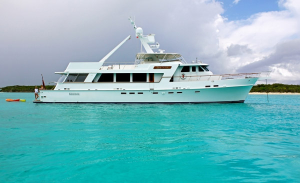 Syrene Crewed Power Yacht Charter