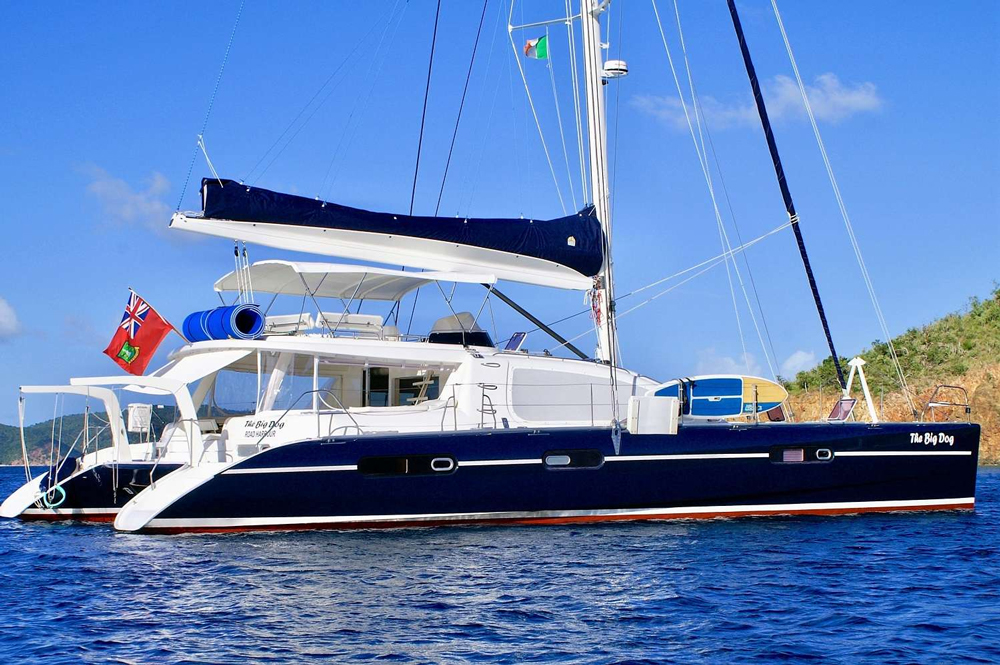 The Big Dog Crewed Catamaran Charter