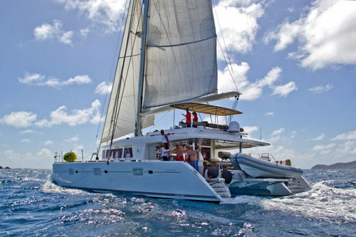 The Cure Crewed Catamaran Charter