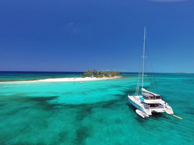 Tiger Lily Lagoon Crewed Catamaran Charter