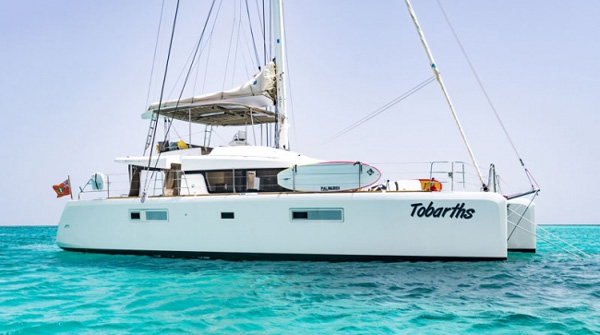 Tobarths Crewed Catamaran Charter