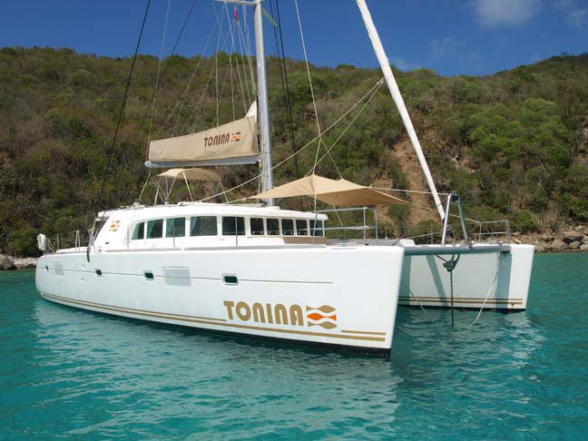 Tonina Crewed Catamaran Charter