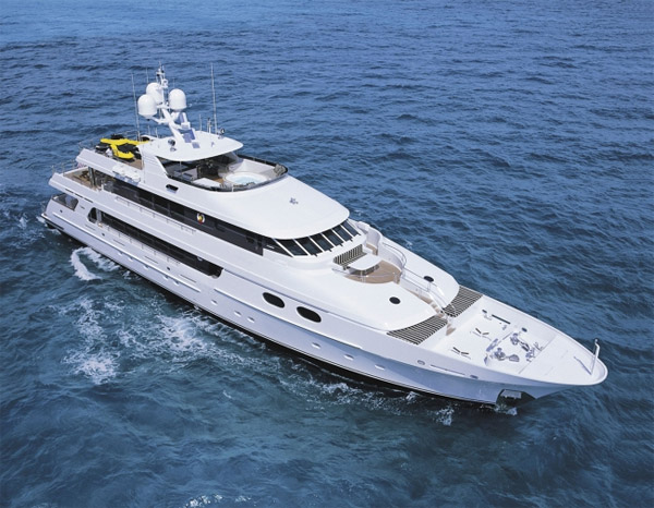 Top Five Crewed Power Yacht Charter