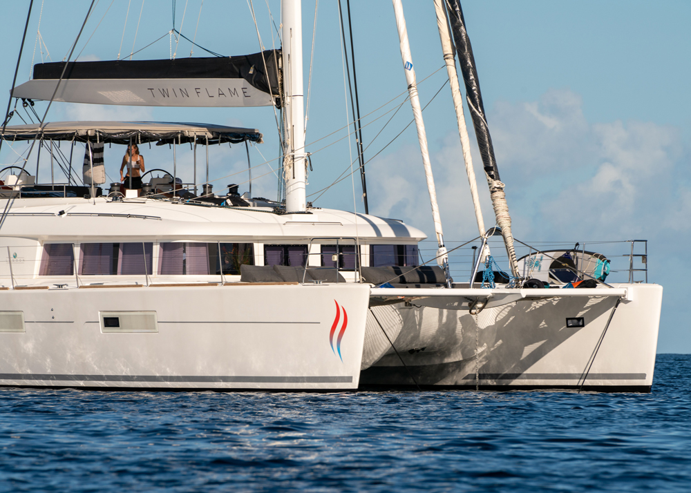 Twin Flame Crewed Catamaran Charter