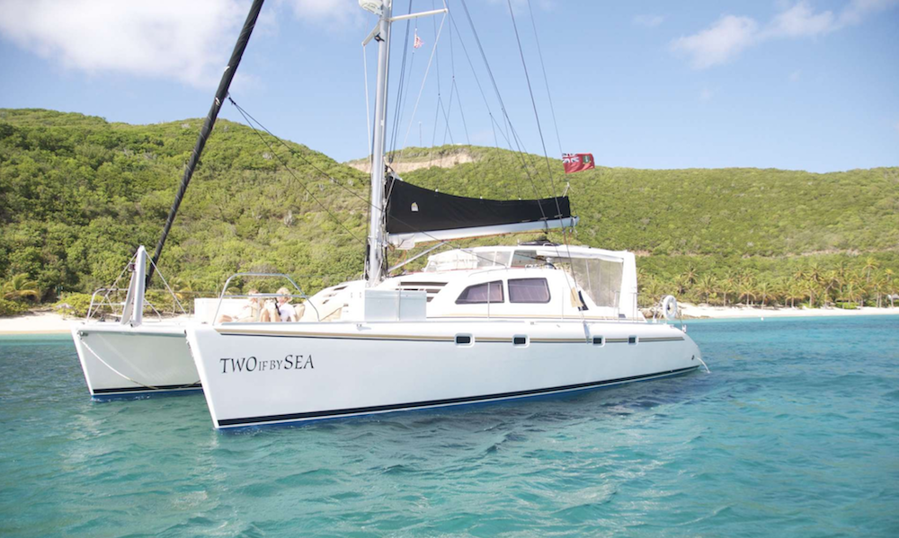 Two If By Sea Crewed Catamaran Charter