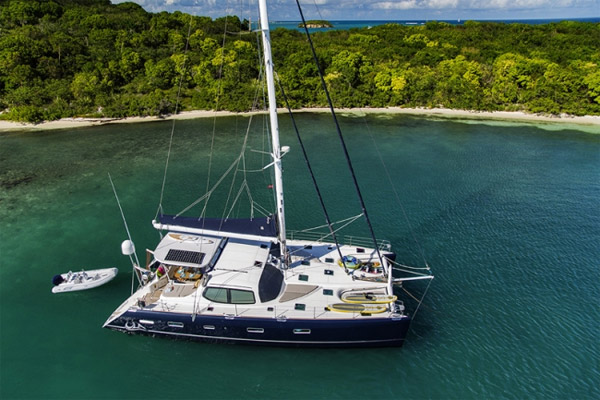 Ula Crewed Catamaran Charter