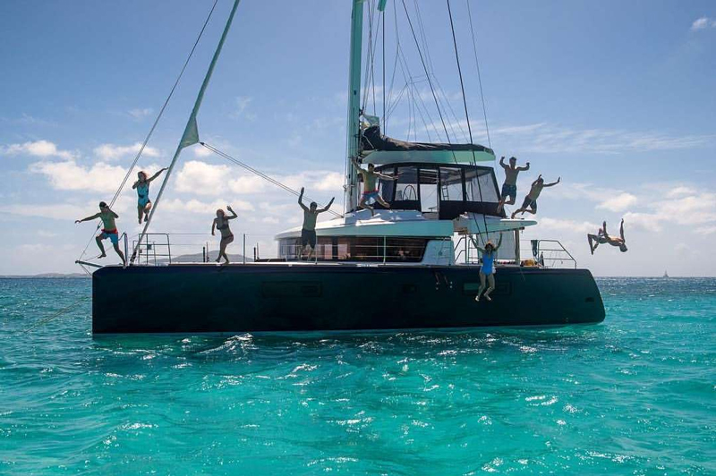 Ventana Crewed Catamaran Charter