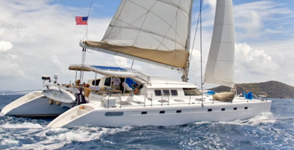 Victoria Crewed Catamaran Charter