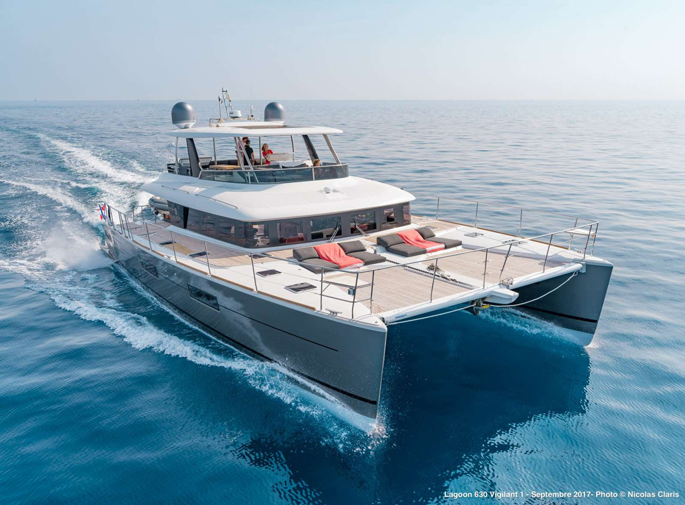 Vigilant 1 Crewed Power Yacht Charter