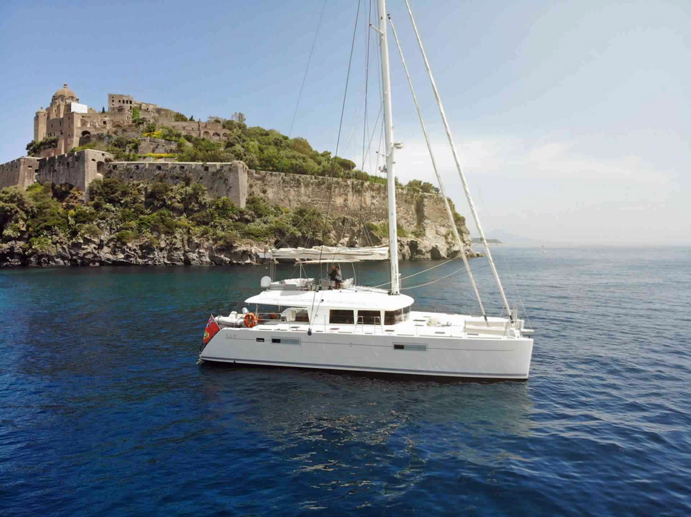 Viramar Crewed Catamaran Charter